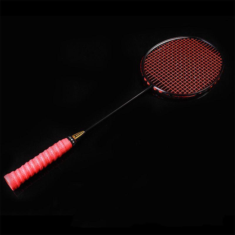 KAILITE 4U 80g Aufgereiht Badminton Schläger Professionelle Carbon Badminton Schläger 30-32LBS freies Griffe und Armband