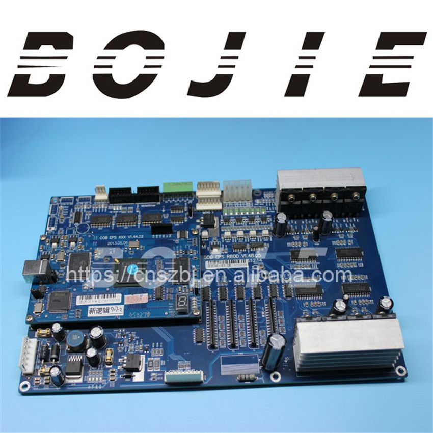 Sky color 4180 printer for epson dx5 print head board mother board