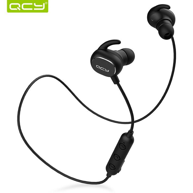 QCY QY19 Sports Bluetooth écouteurs sans fil anti-transpiration casque musique stéréo écouteurs Bluetooth V5.0 avec Microphone