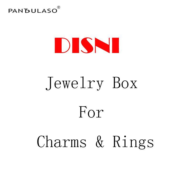 Pandulaso Disni Boîtes à Bijoux pour Charmes & Anneaux et Boucles D'oreilles BRICOLAGE Bijoux Accessoires D'emballage Boîtes pour Femmes Bijoux Cadeaux Boîtes