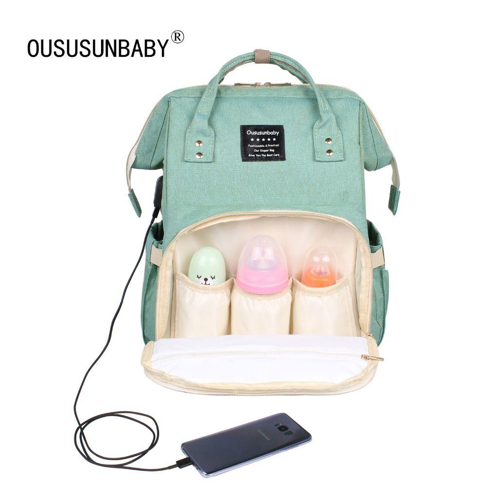 Grande capacité sac à langer maternité Nappy Bebek Bakim Cantalari sac à dos sac bébé Bolsa Maternidade voyage bébé sacs pour maman