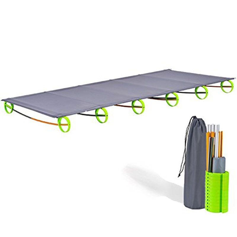 Portable Folding Inflatable Mattress Camping Sleeping Bed Mat Ultralight Mattress Cot Rest For Hiking Traveling