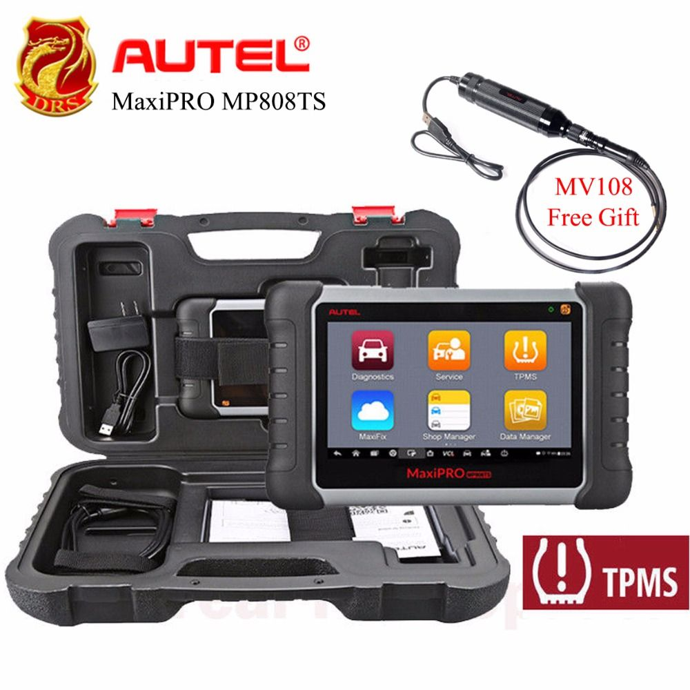 Autel MaxiPRO MP808TS OBDII 2 Diagnose Scanner Komplette TPMS Service WiFi Bluetooth Scan Tool Prime Version von Maxisys MS9O6TS