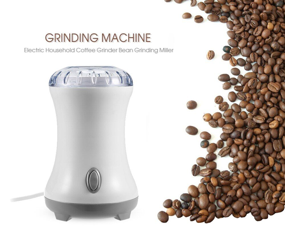 High Quality Household 220-240V Electric Coffee Grinder Bean Grinding Miller Moedor De Cafe Coffee Grinding Machine