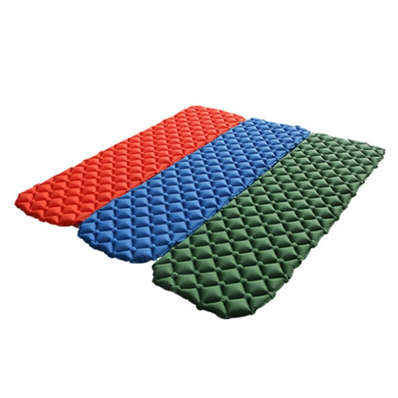 Outdoor Ultralight Camping Mat TPU Inflatable Mattress Air Mattress Sleeping Pad Airbed Inflatable Bed Folding Bed Air Cusion