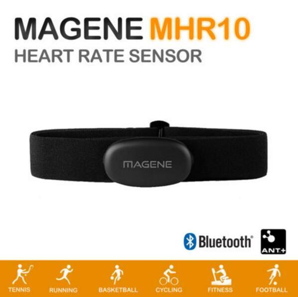 Magene MHR10 Bluetooth4.0 ANT + Heart Rate Sensor Compatible GARMIN Bryton IGPSPORT Computer Running Bike Heart Rate Monitor