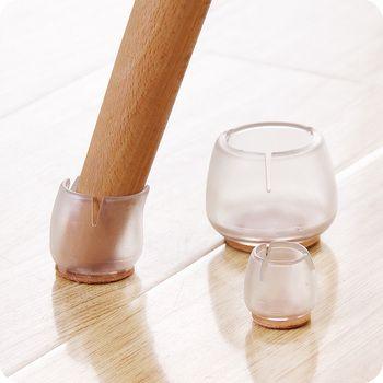 Новый 10 шт./компл. Силиконовые Прямоугольник Квадратные ножку стула Caps ноги колодки накладки для ножек мебели Дерево Защита для пола E2S