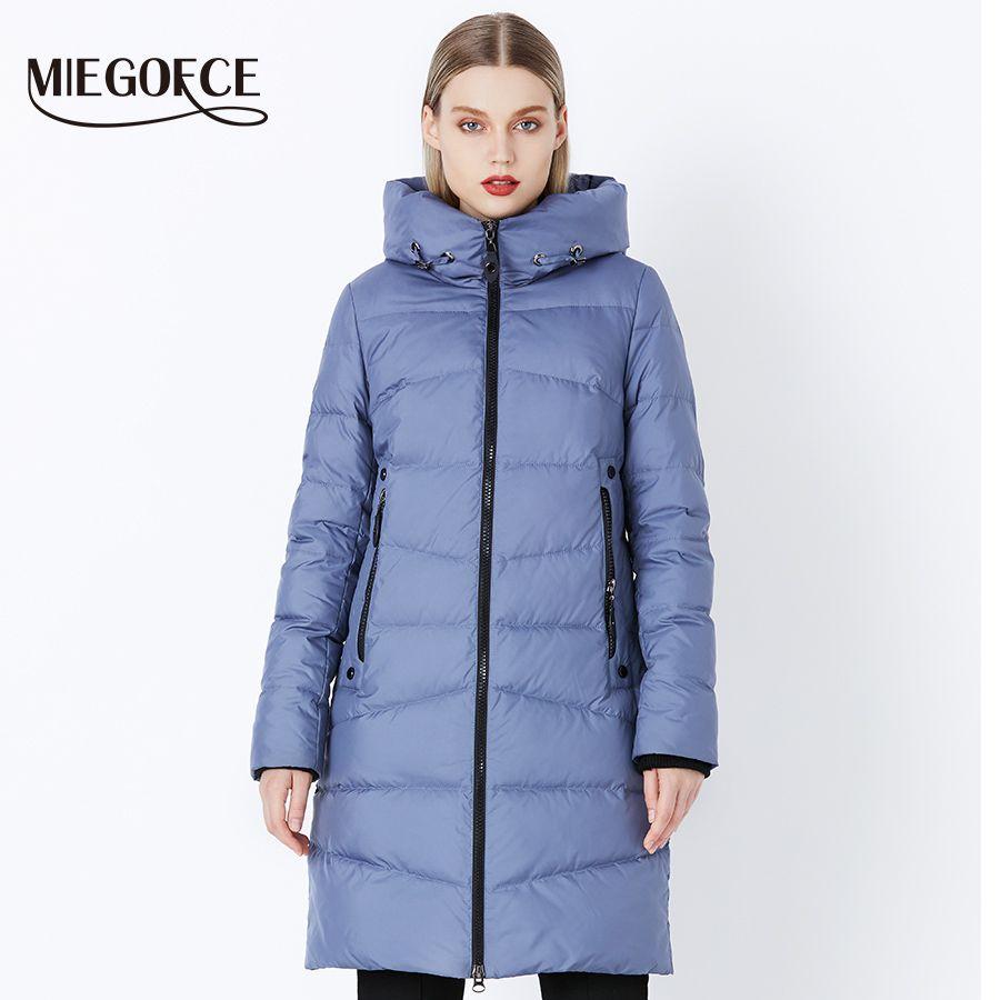MIEGOFCE 2018 Qualität Frauen Winter Jacke Von Bio Flusen Winter Komfortable Und Modische Parkas Frauen Winter Mantel Kleidung