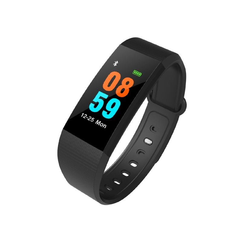 i9 Smart Band Color Screen IP68 Waterproof Heart Rate Fitness bracelet with Blood Pressure Oxygen Monitor Smartband PK F07