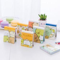 100 Lembar/Pak Sumikko Gurashi Portable Memo Bantalan Kecil Notebook Sekolah Kantor Pasokan Alat Tulis