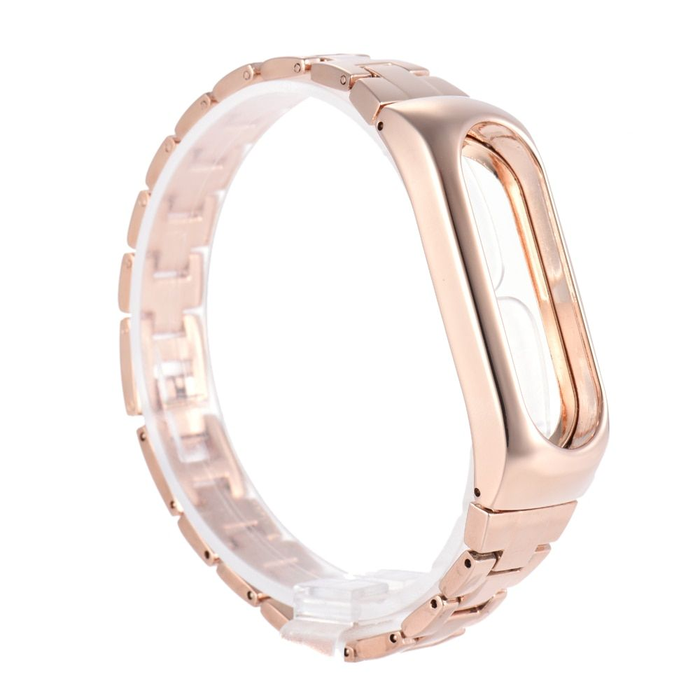 metal strap for Xiaomi mi 2 band bracelet belt for Xiaomi miband 2 strap replacement display oled black gold silver bracelets