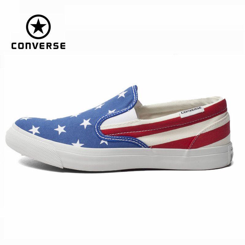 Original Converse all star schuhe nationalflagge nähte niedrigen männer frauen turnschuhe leinenschuhe klassischen Skateboard-schuhe