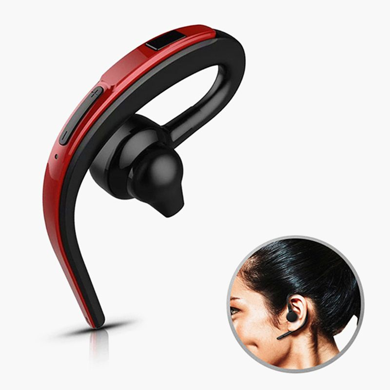 Handsfree Wireless Bluetooth Headset Business Earphone Noise Cancelling Sports Bluetooth Headphone with Mic <font><b>Voice</b></font> control Driver