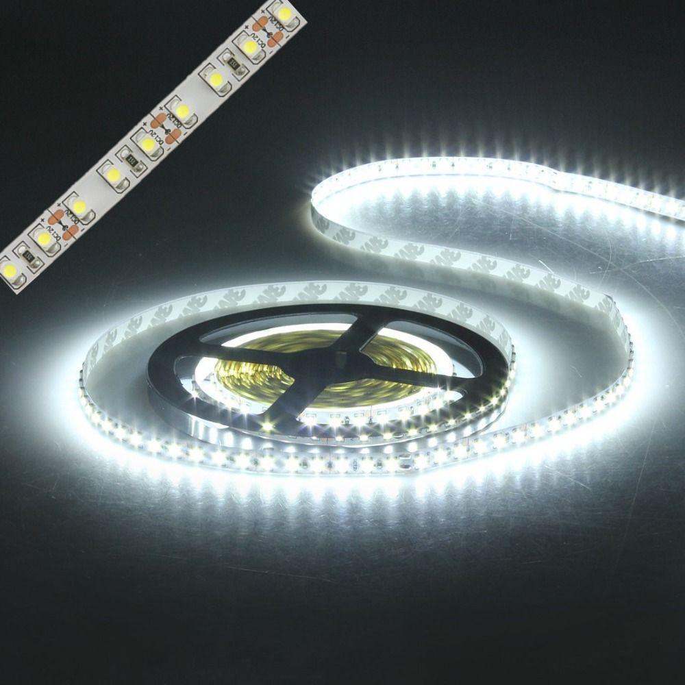 Led bande lumière 3528 600led 5 m étanche IP65 DC 12 V 3000 K 6500 K 8000 K blanc chaud blanc froid blanc rouge vert bleu led bande lampe
