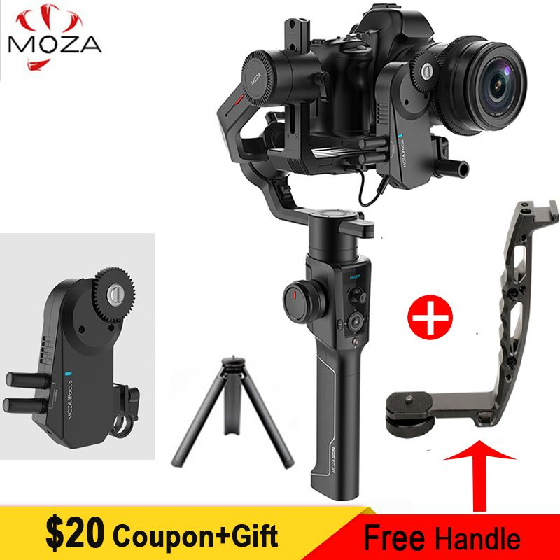 In Lager Moza Air 2 3-Achse Handheld Stabilisator für Canon Nikon Sony A7S A7R3 Lumix GH4 DSLR Spiegellose kameras, nutzlast 4,2 kg