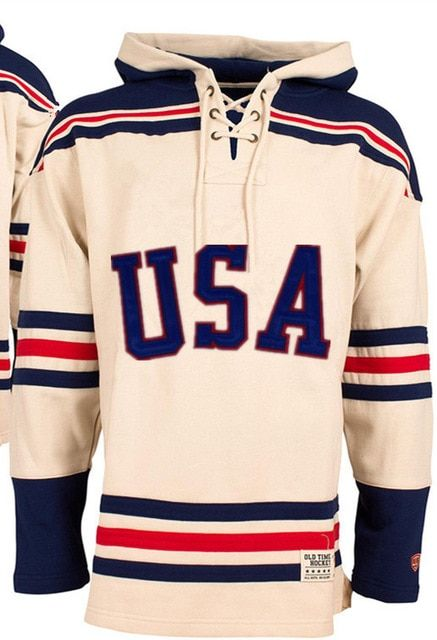 1980 Miracle On Ice Team USA Hockey Hoodie Personality Customize Any Name Any Numeber Stitched Mens Sweater Ice Hockey Jersey