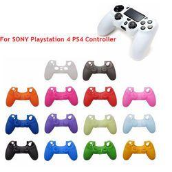Couleurs Silicone Housse Protection Cas Pour SONY Playstation 4 PS4 Contrôleur