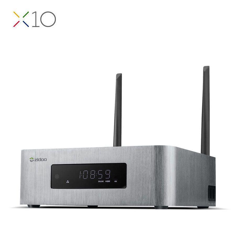 ZIDOO X10 Andoid 6.0 Smart TV Box Dual System Quad Core 2G/16G Dual Band WIFI 1000M LAN HDR USB 3.0 SATA 3.0 Media Player