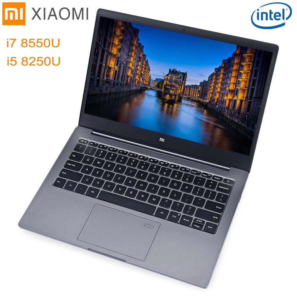 Xiaomi Mi Notebook Air 13.3 Windows 10 Intel Core I5/I7 Quad Core 8GB+256GB SSD Fingerprint Dual WiFi Ultrabook Gaming Laptop