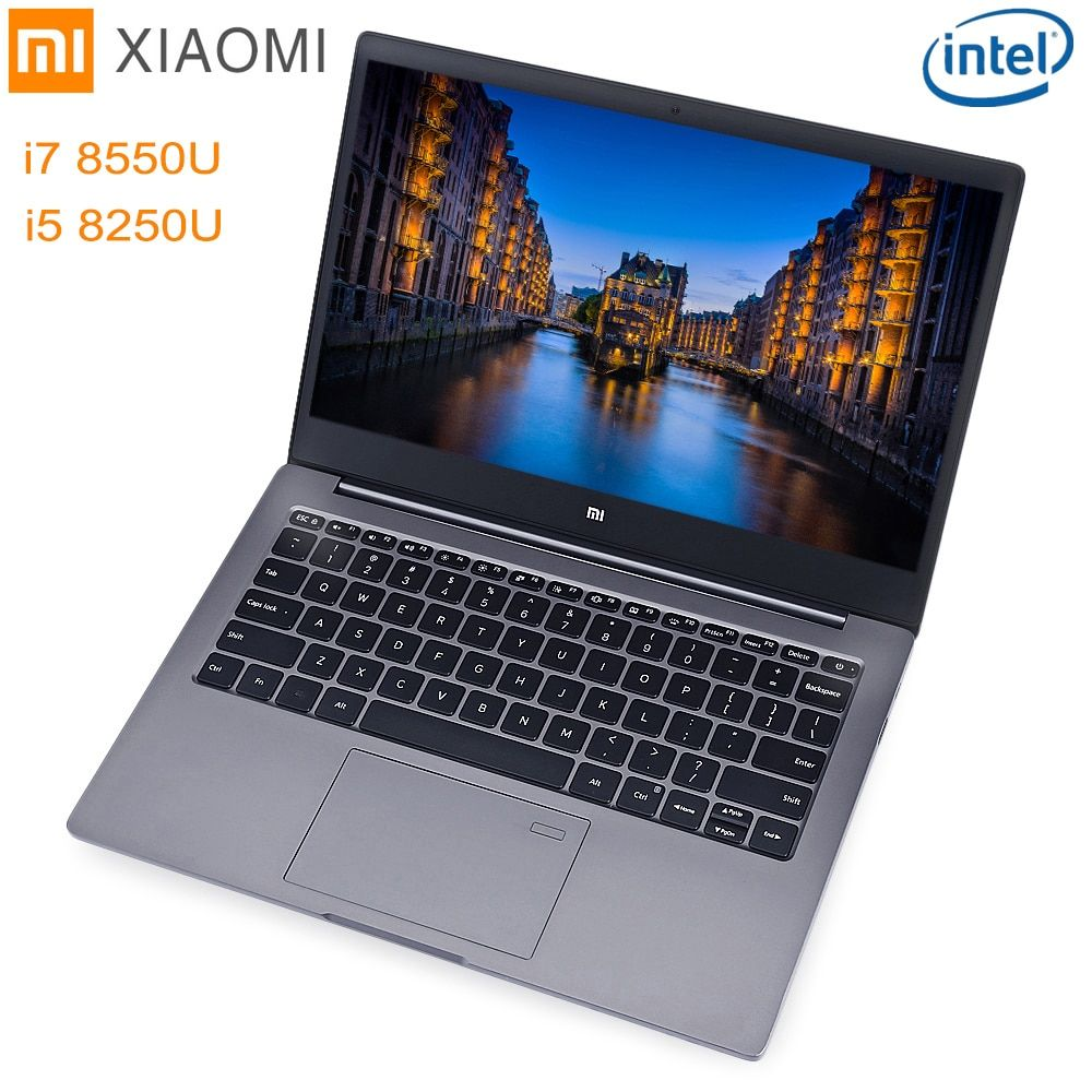 Xiaomi Mi Notebook Air 13.3 Windows 10 Intel Core I5/I7 Quad Core 8GB+256GB SSD Fingerprint Dual WiFi Ultrabook Gaming Laptop