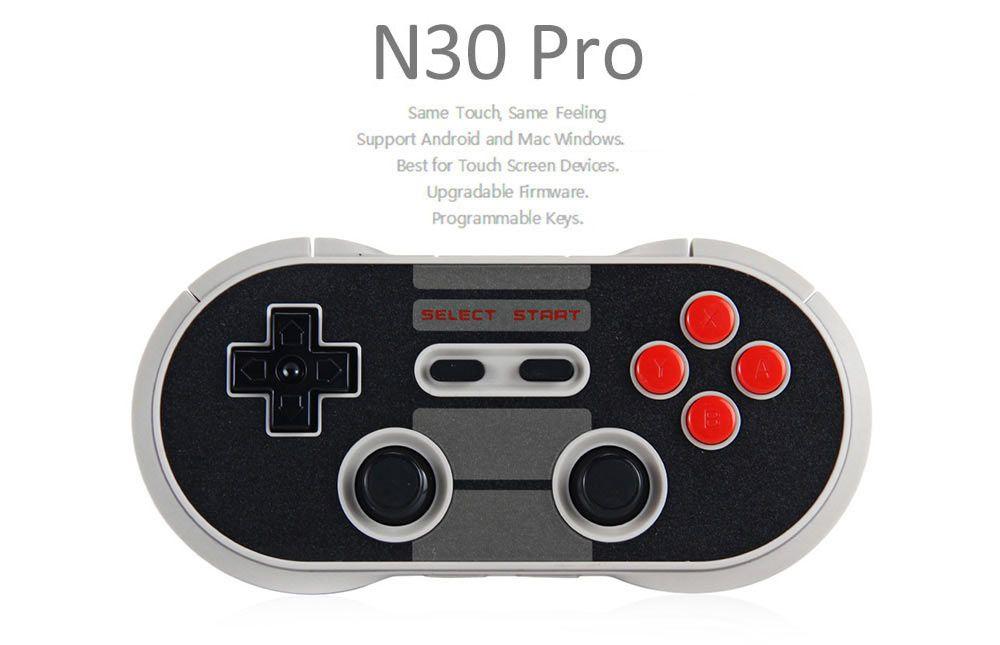 8 8bitdo N30 Pro Sans Fil Bluetooth Contrôleur Double Classique Joystick pour iOS Android Gamepad Contrôleur de Jeu PC Mac Linux