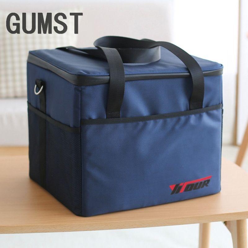 GUMST 37L Kühltasche Hohe qualität Auto eis pack picknick Große kühltaschen Isolierung paket thermo ThermaBag kühlschrank