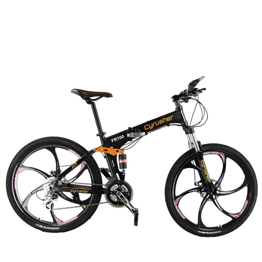Cyrusher FR100 Folding Mountain Bike 24 Speed 26*17