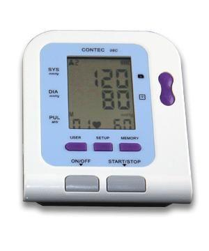 CE FDA Digital Blut Monitor USB Software CD Enthalten CONTEC08C BP Monitor, Tensiometer
