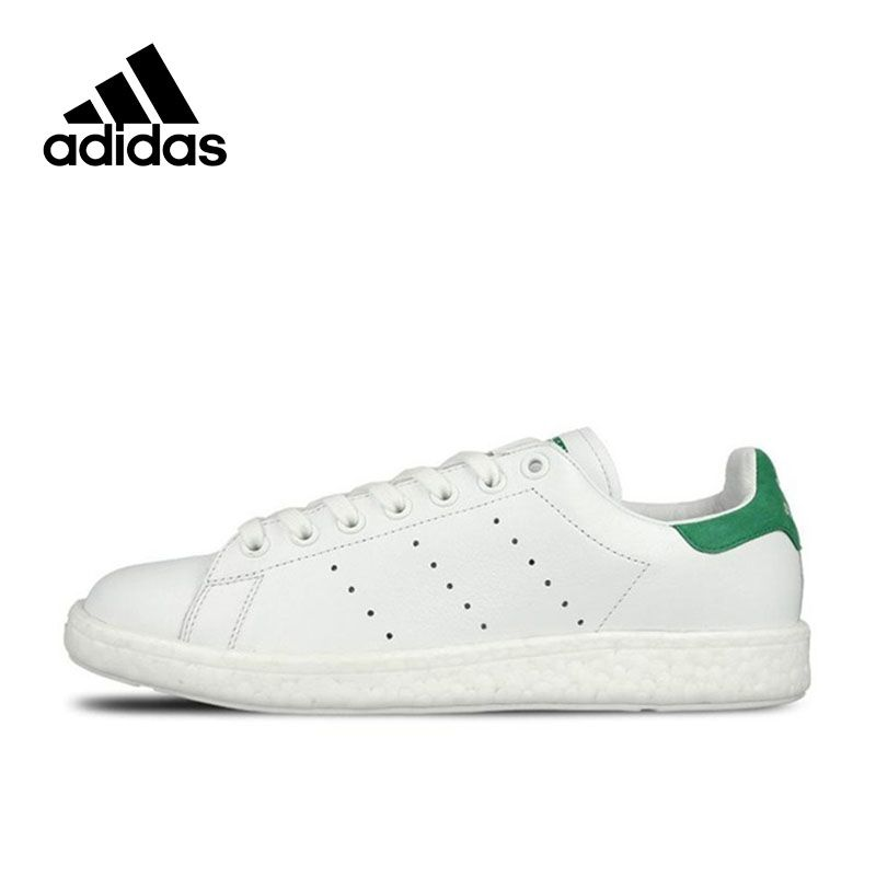 Authentic Adidas Sneakers Originals Classic Stan Smith Women Men Breathable Skateboarding Shoes Unisex Low-tops Sports Sneakers