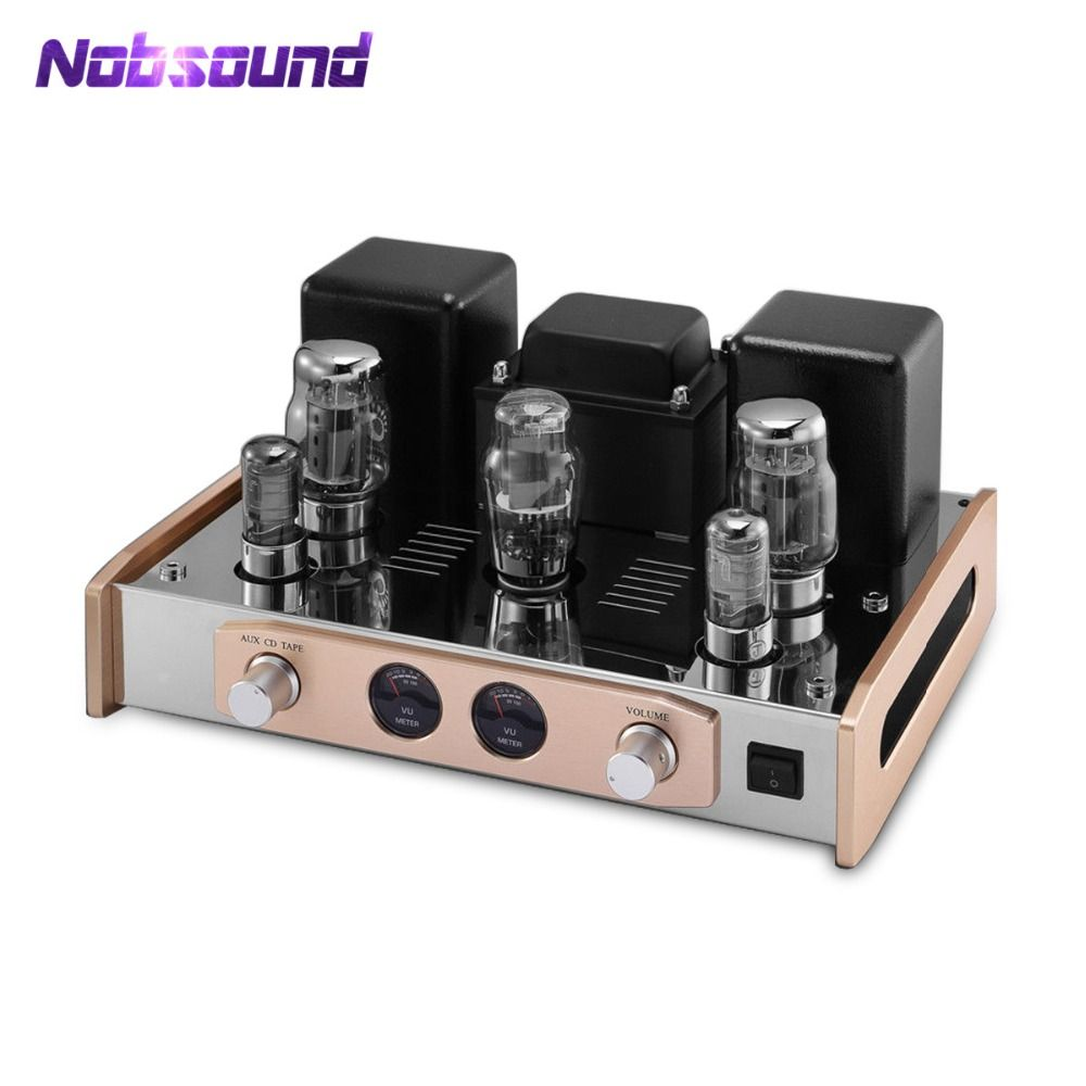 2019 Nobsound Hi-End KT88 Valve Tube Amplifier Stereo Single-Ended HiFi Audio Power Amp 18W*2