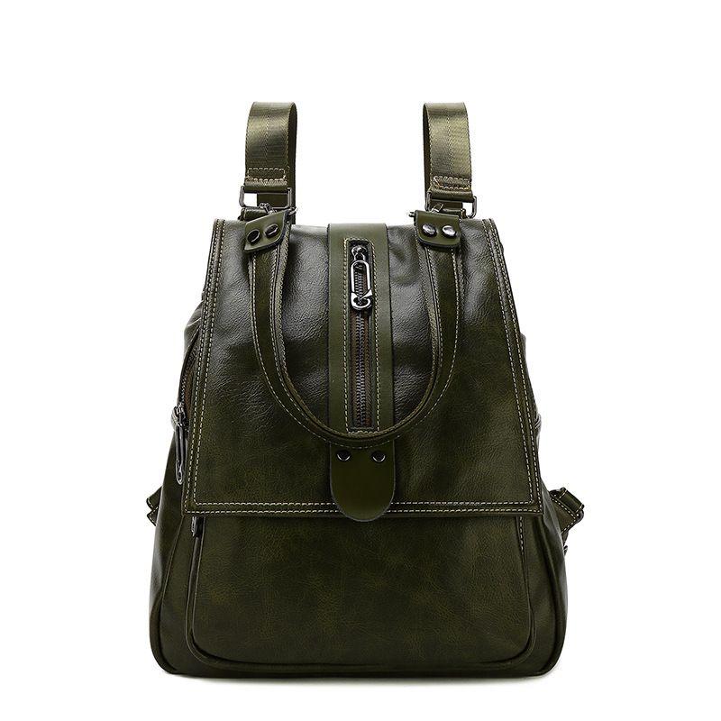 2019 echtem Leder rucksack frauen luxus rucksack frauen taschen designer taschen frauen weibliche rucksack mode geprägte tasche Neue C789