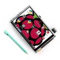 3.5 Inci 26 P SPI TFT LCD Display Layar dengan Sentuhan Panel 320*480 untuk RPi1/RPi2/ raspberry PI3 Papan V3 (Dukungan Cabut System)