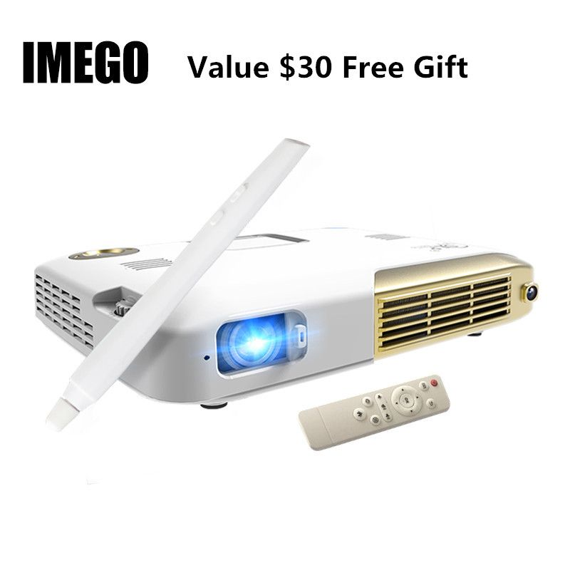 Interactive Touch Screen IWB Full HD 1080p Mini LED Projector Android Portable Education DLP 4K Business Home Projectors WIFI