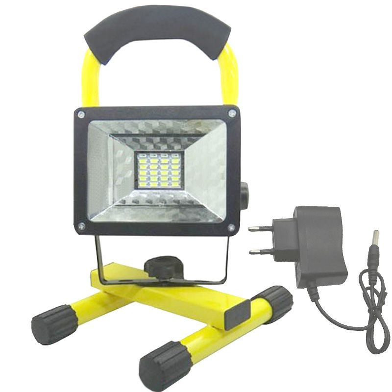 led 18650 flood light Waterproof Portable lights Outdoor rechargeable lamp by 3.7V 18650 Battery (not include battery)