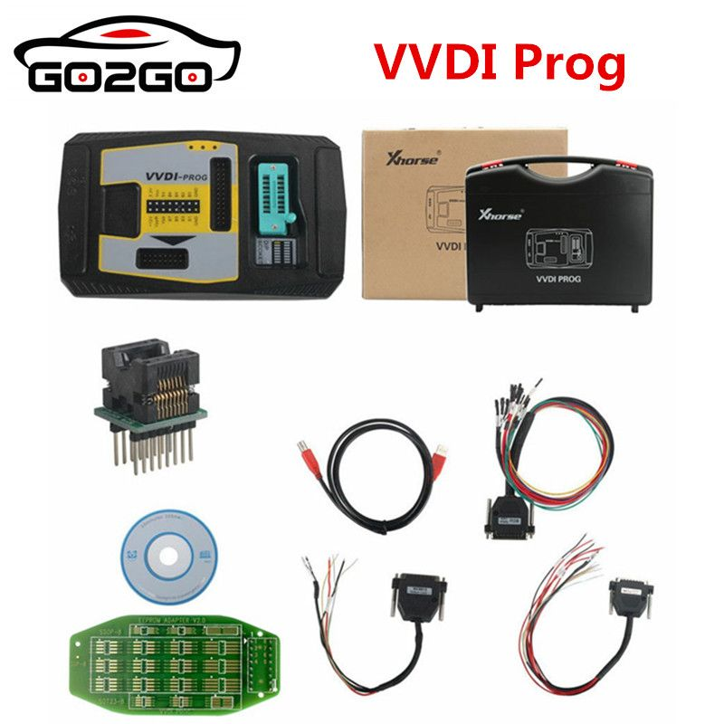 Hot Sale 100% Origional XHORSE Original Xhorse VVDI PROG Programmer V4.7.1 VVDIPROG Auto Diangnostic-tool Program For BMW Suppor