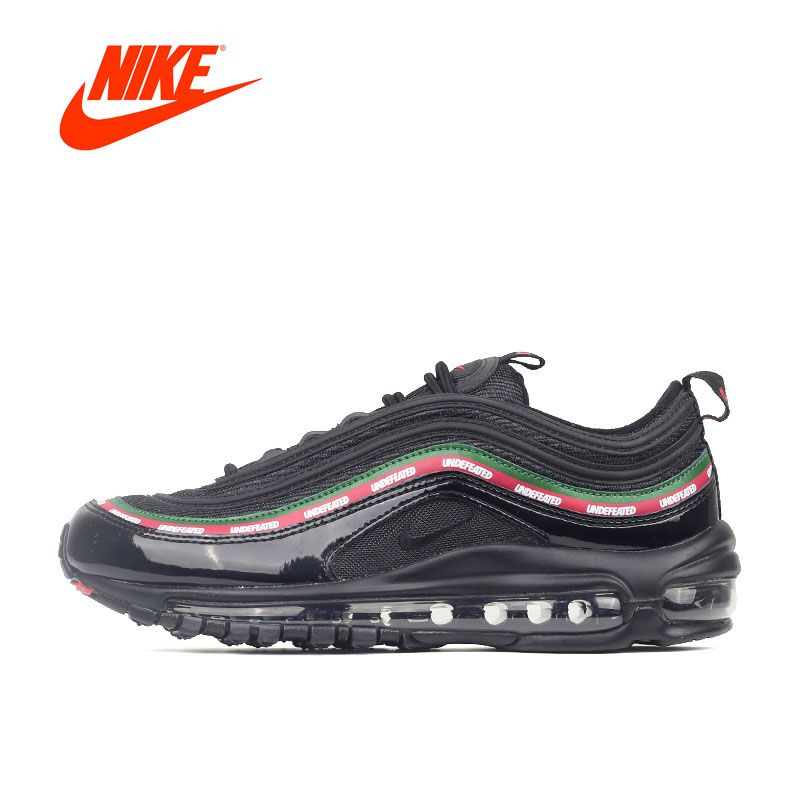 Intersport Original New Arrival Offical Undefeated x Nike Air Max 97 Breathable Men's Running Shoes Sports Sneakers Brand Design