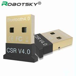 Mini USB Bluetooth v 4.0 modo dual sem FIO adaptador Dongle Bluetooth CSR 4.0 USB 2.0/3.0 para Ventanas 10 8 XP Win 7 Vista 32/64
