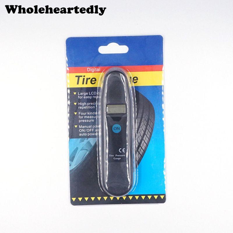 Affichage LCD numérique précision roue pneu jauge de pression d'air pneu testeur véhicule moto voiture 5-150 PSI/KPA/BAR/KG/CM2 détecteur