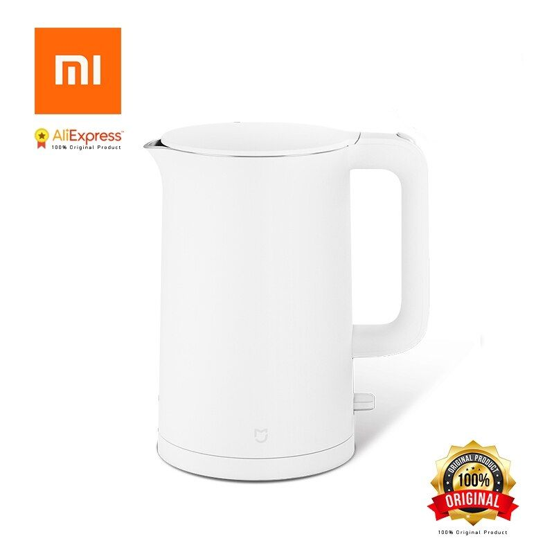 Xiaomi Mijia Original Electric Kettle 1.5L Household 304 Stainless Steel Insulated Water Kettle Fast Boiling for Smart Home