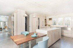 2017 новый стиль твердая деревянная кухонная мебель с 18 мм фанеры туши и 20 мм деревянные панели