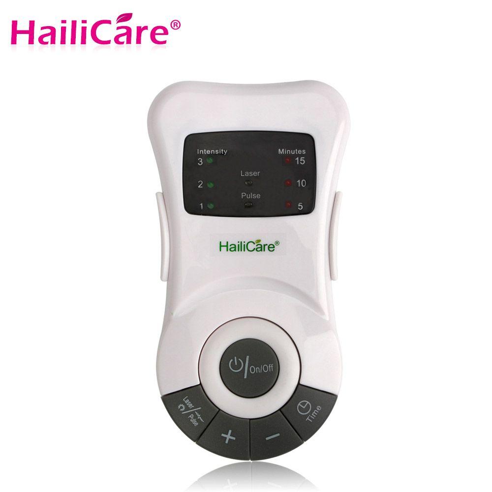 Appareil de thérapie de la rhinite anti-allergie Laser basse fréquence appareil de traitement de la sinusite du rhume des foins appareil de massage des soins du nez