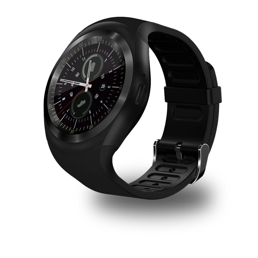 696 Y1 Smart Watchs Round <font><b>Support</b></font> Nano SIM &TF Card With Whatsapp And Facebook Men Women Business Smartwatch For Android Phone