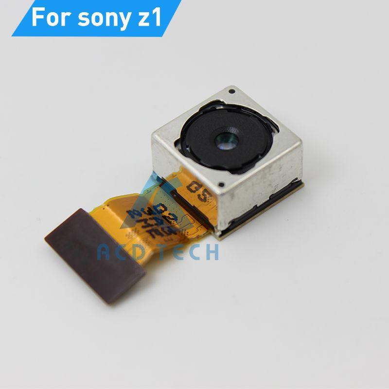 Caméra Principale Arrière d'origine Pour Sony Z1 L39H C6902 C6903 Big Caméra Câble Flex Retour Caméra Pièces De Rechange Rapide Gratuite