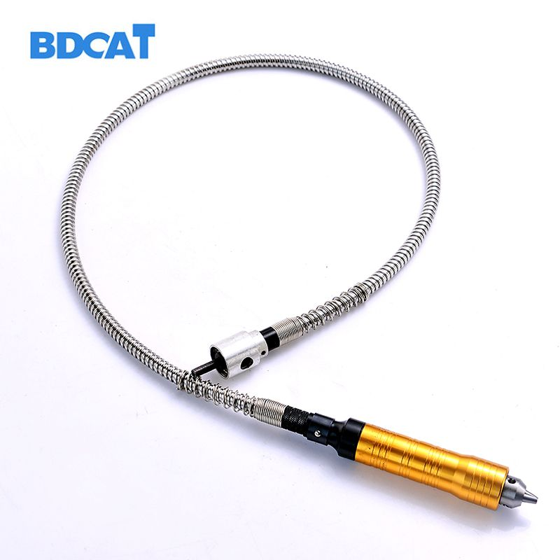 6mm <font><b>Rotary</b></font> Grinder Tool Flexible Flex Shaft Fits + 0-6.5mm Handpiece For Dremel Style Electric Drill <font><b>Rotary</b></font> Tool Accessories