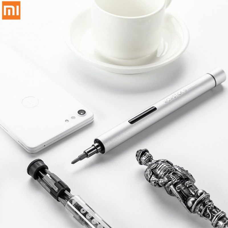 Newest Xiaomi mijia wowstick 1P+pro 23 In 1 Electric Screw Mi Driver Cordless Power Screw mijia Tool driver Kits with Holder