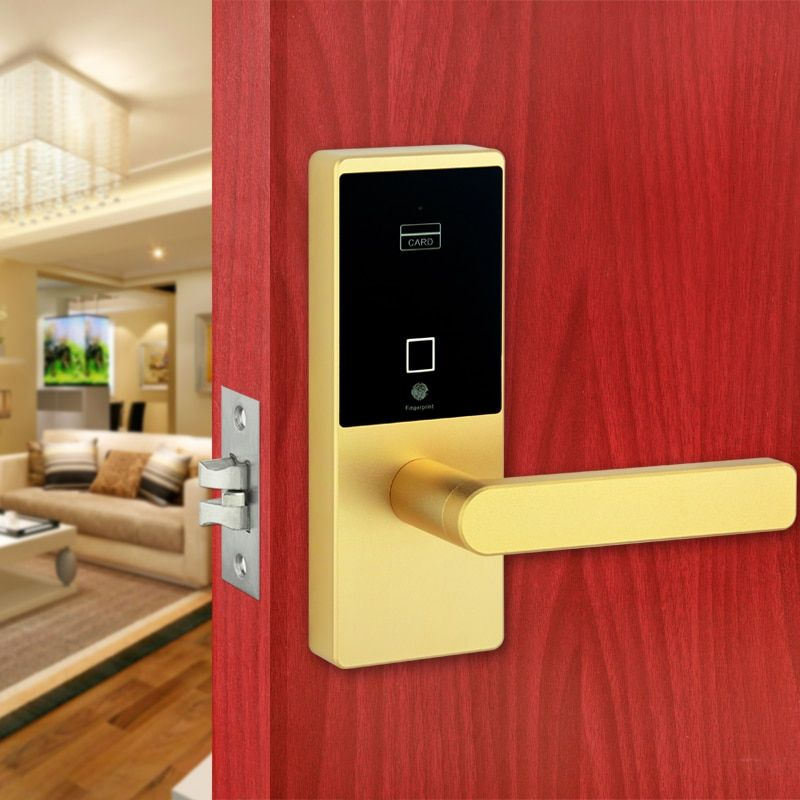 Smart Keyless Biometric Fingerprint Door Lock Intelligent Security Electronic Door Locks