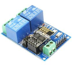 5 V ESP8266 ESP-01 2 Channel WIFI Modul 2-Channel Relay Modul untuk IOT Smart Home Aplikasi Ponsel controller