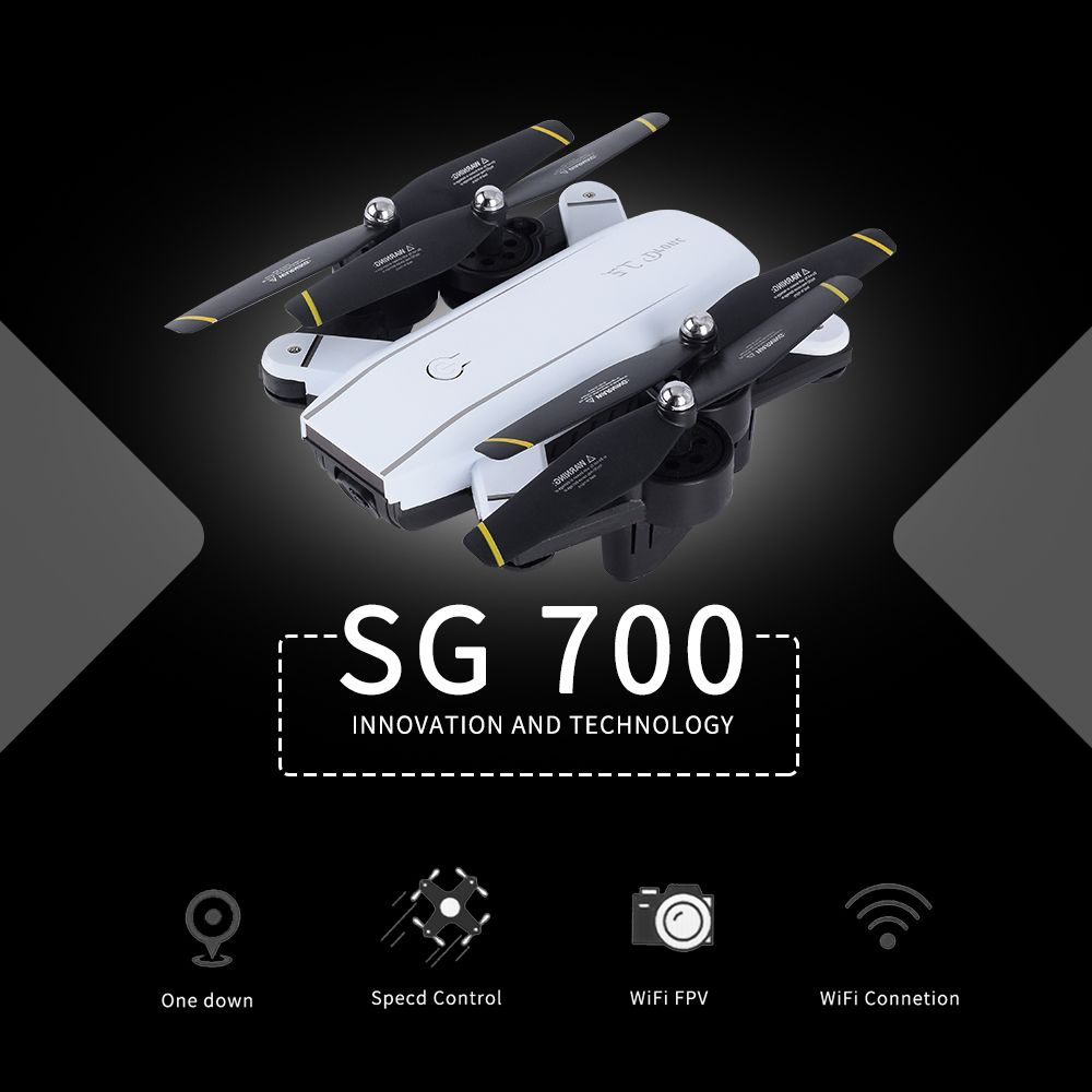 720P SG700 Rc Drone With Camera/No Cam Wifi FPV Foldable Selfie Drone Altitude Hold Headless Gesture Control Dron vs E58 SG900
