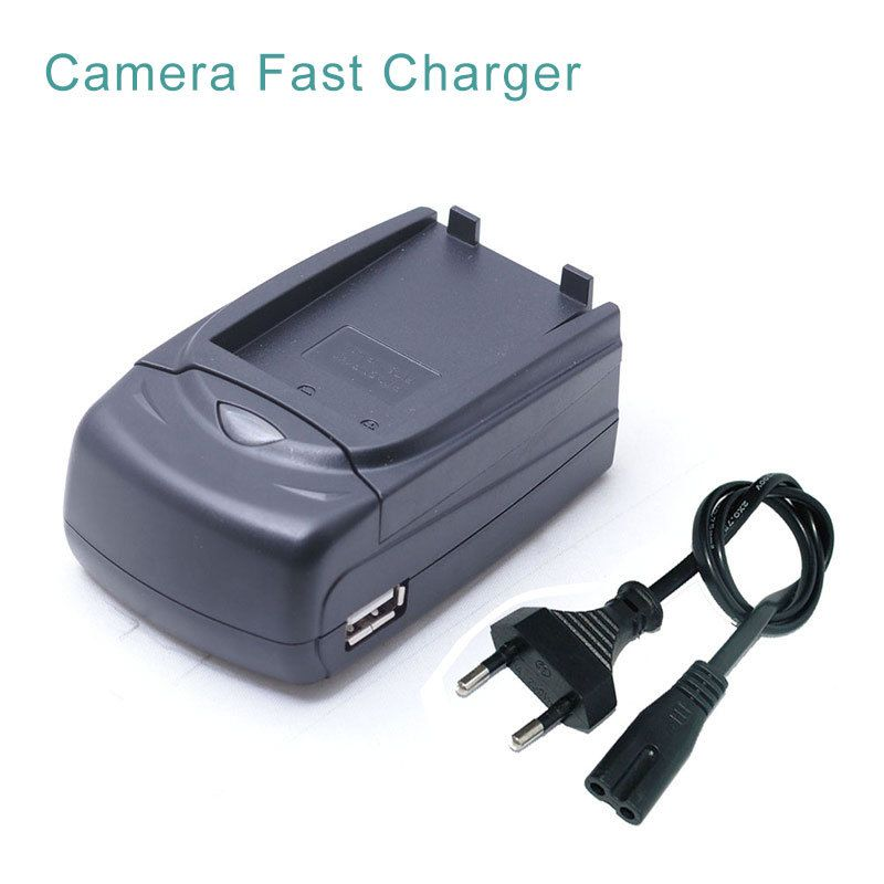 NP-60 NP 60 NP60 Battery Car + Travel Camera Charger For FUJIFILM FUJI FinePix M603 F601 F410 F401 50i Zoom With USB Port