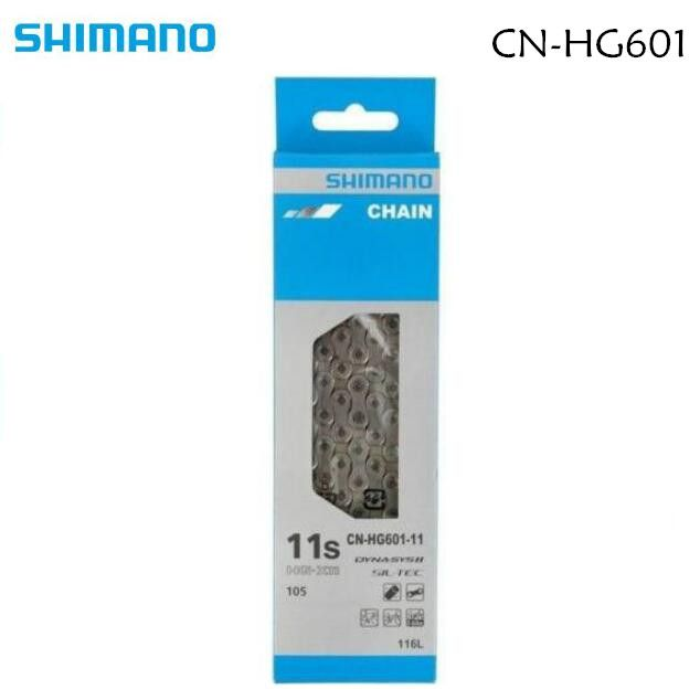 SHIMANO DYNA-SYS SIL-TEC CN HG601 11S Speed Chain 116L Link MTB Road Bicycle Part CN-HG601 for 105 5800 SLX M7000